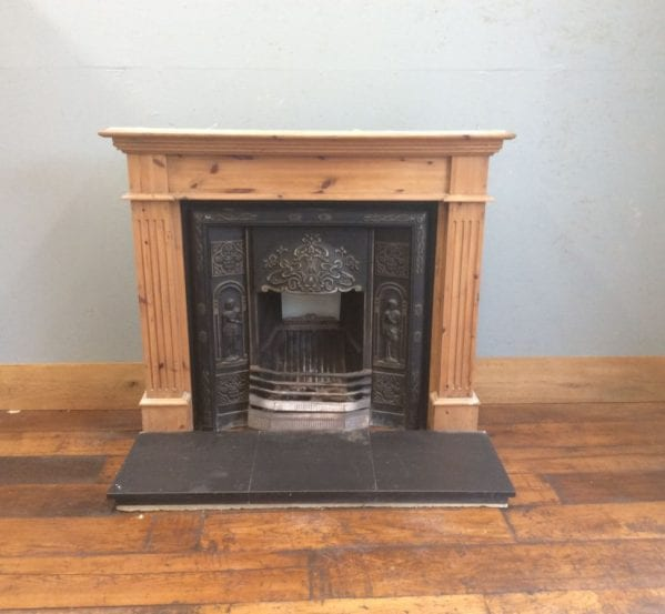 Three Part Complete Fireplace