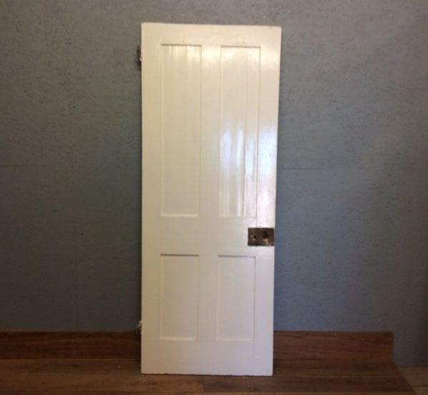 Painted 4 Panel Door