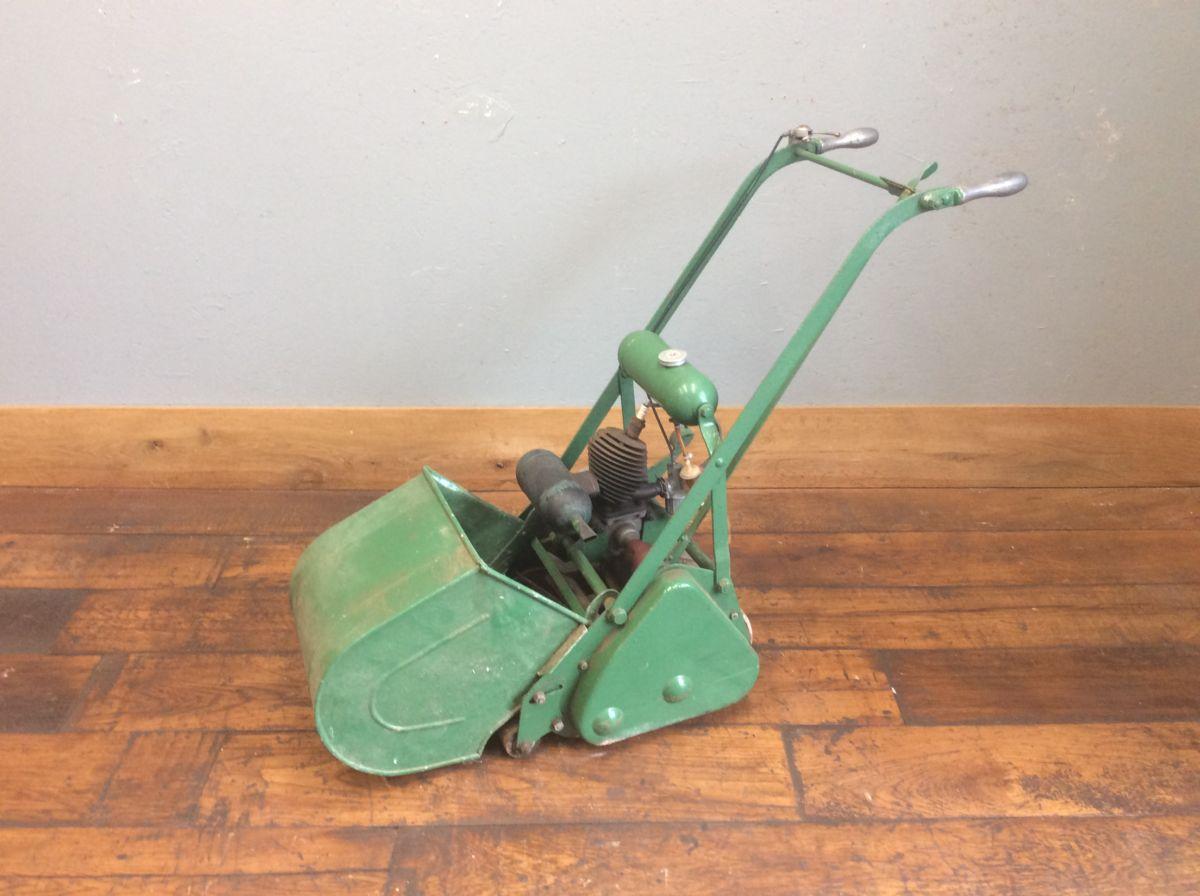 Vintage Motorised Lawn Mower