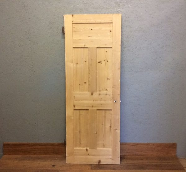 5 Panelled Door Smooth Stripped