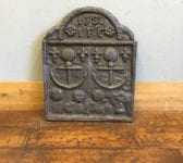 Armada Cast Iron Fire Back Dated 1588