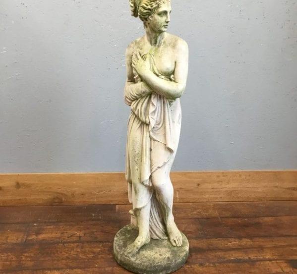 Stone Lady Statue
