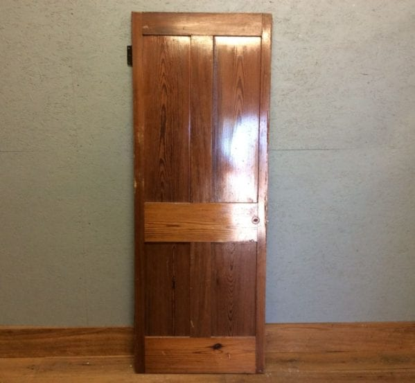 Varnished 4 Panel Door