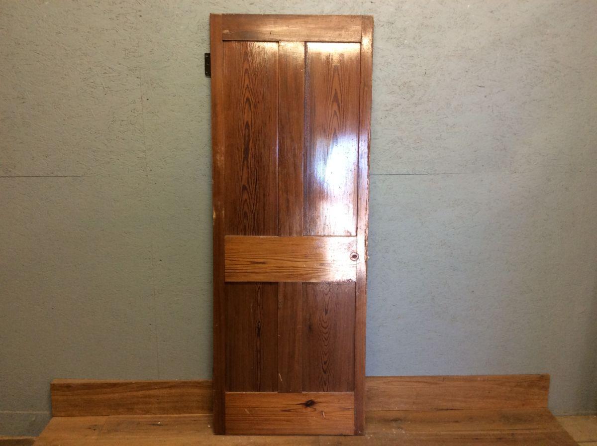 Varnished 4 Panel Door