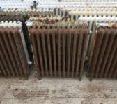 Mid High Brown 4 Bar Radiator