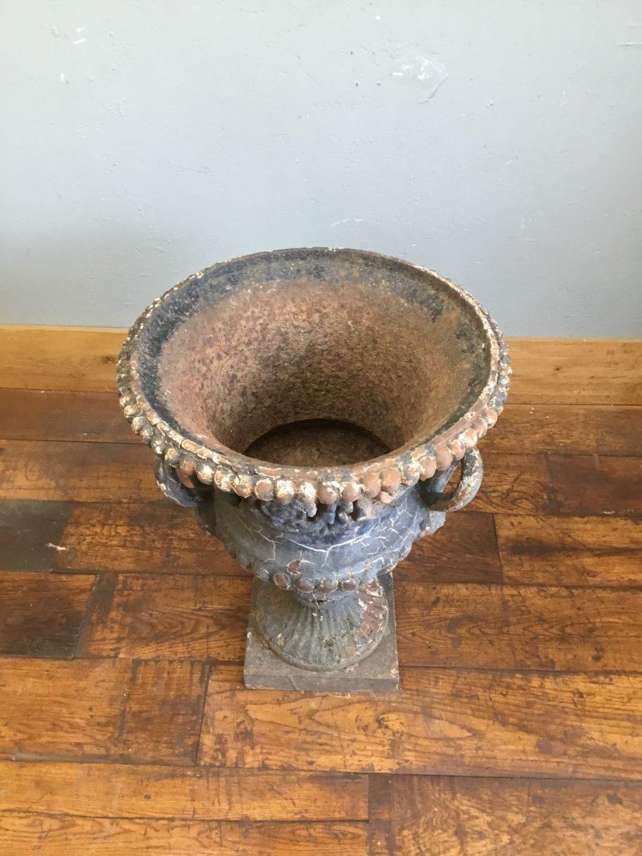 Cast Iron Urn Planter