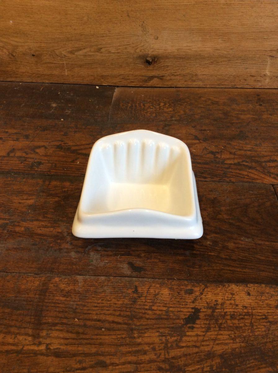 White Porcelain Soap Holder