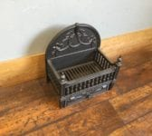 Reproduction Ornate Fire Basket & Ash Tray