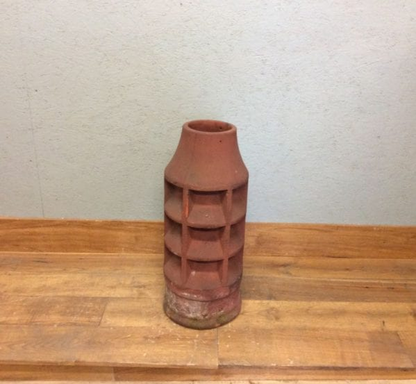 Tall Terracotta Sankey Chimney Pot