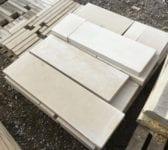 Light Reconstituted Stone Coping