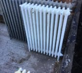 Reclaimed 3 Foot 4 Bar Radiator