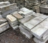 Reclaimed Portland Stone Coping