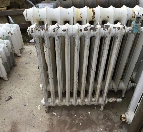 Small 2 Bar Reclaimed Radiator