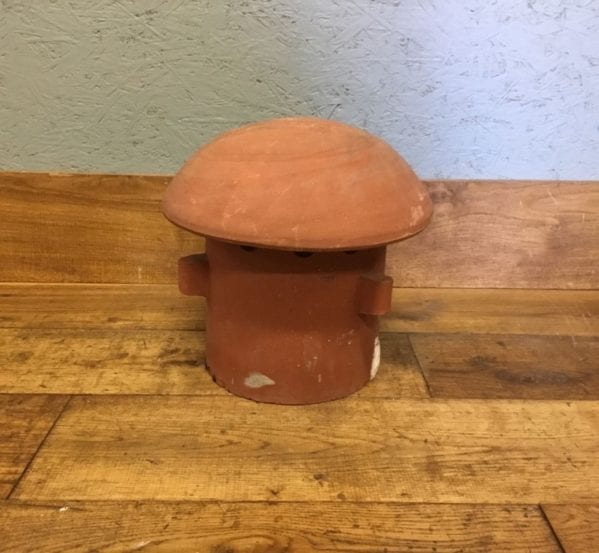 Mushroom Headed Pepper Chimney Pot
