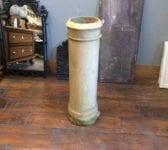 Tall Cream Cannon Head Chimney Pot