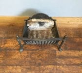 Solid Fire Basket Brass Acorn Finials