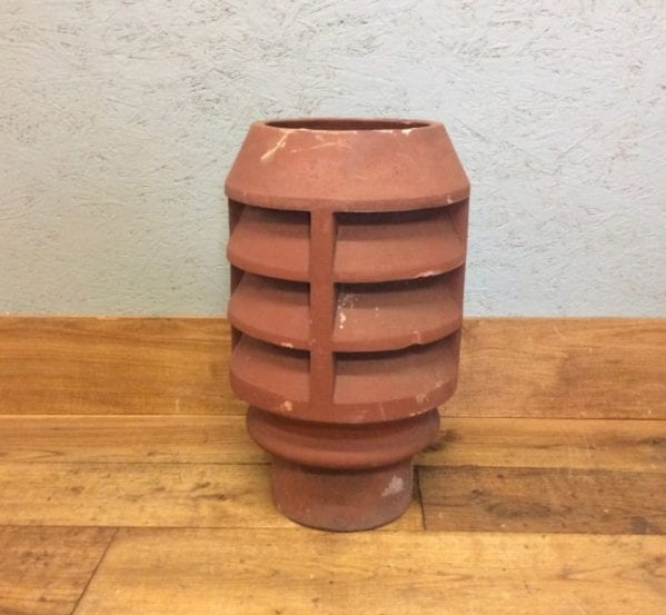 Short Louvred Chimney Pot