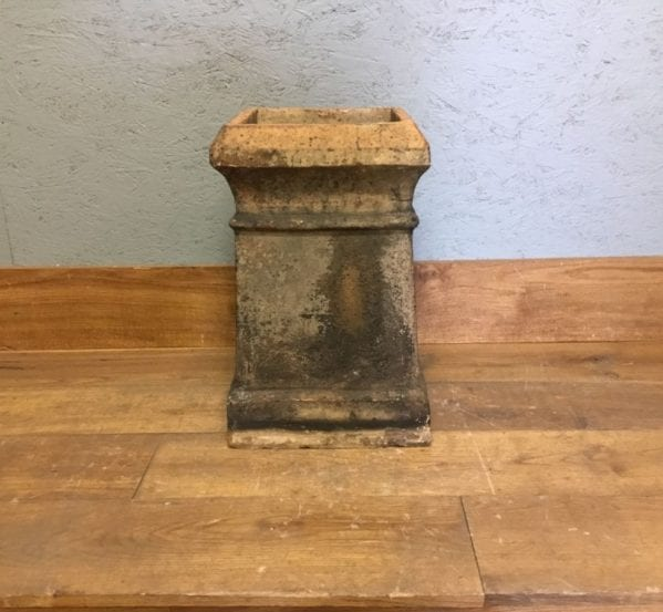 Square Buff Reclaimed Chimney Pot