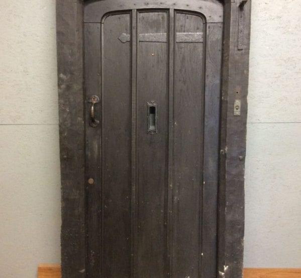 Grand Heavy Oak Front Door & Frame