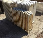 Reclaimed 5 Bar Painted Radiator