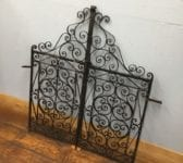 Highly Ornate Iron Gate