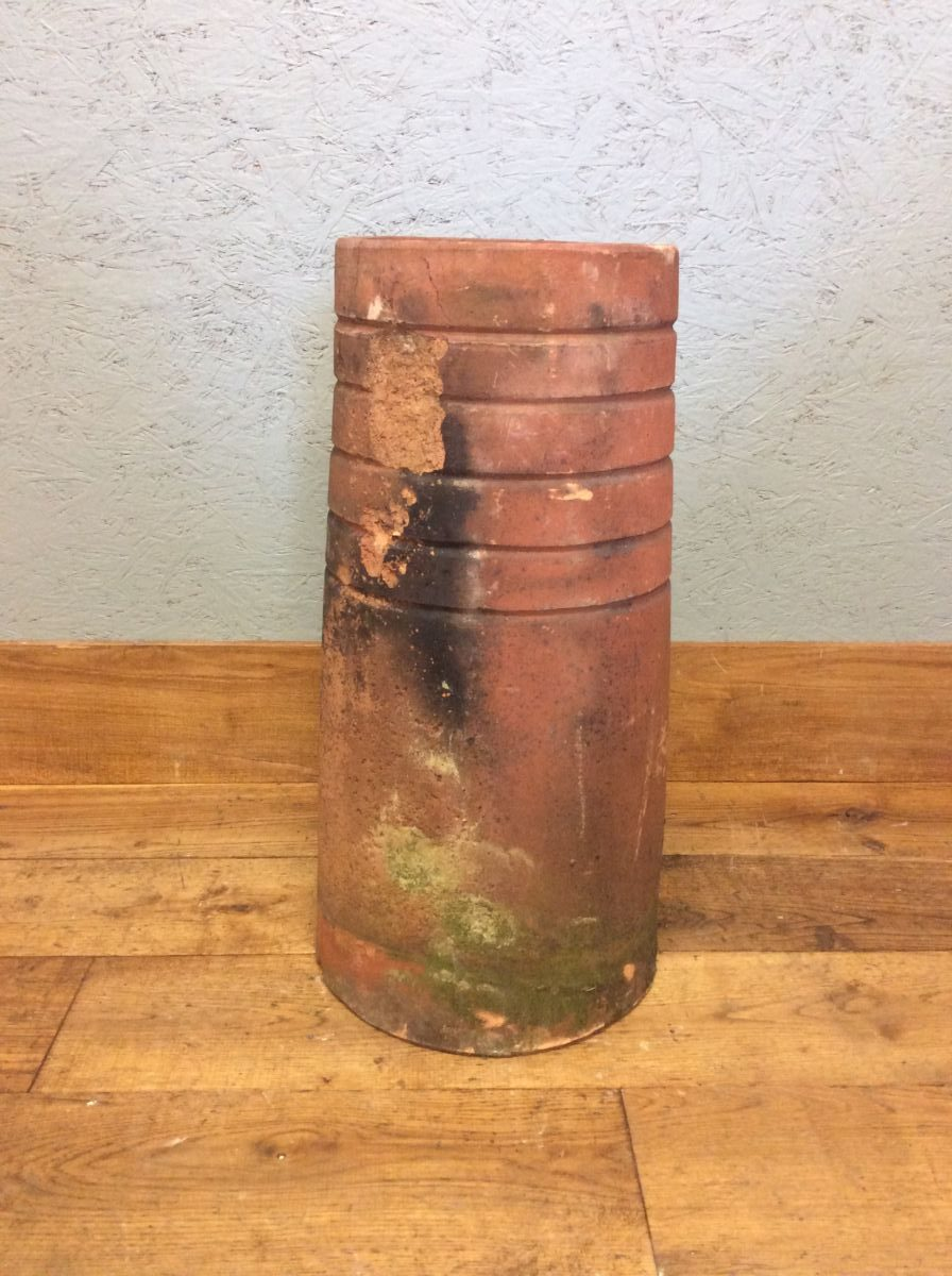 Terracotta Five Ring Top Chimney Pot