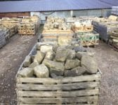 Walling York Stone Rockery