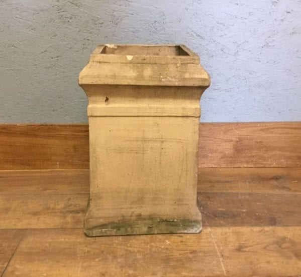 Reclaimed Buff Square Chimney Pot