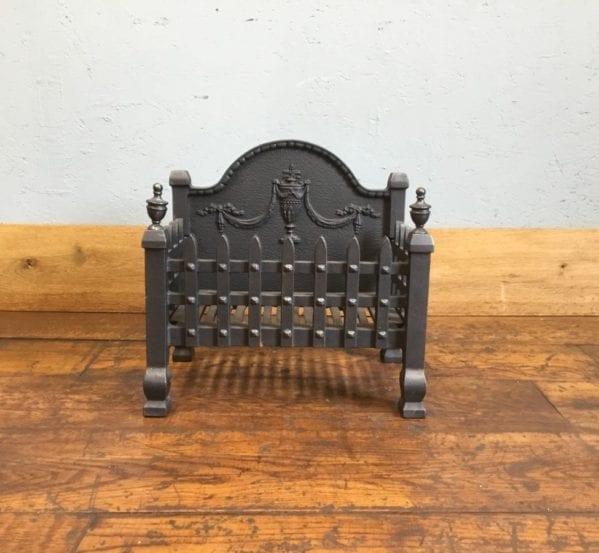 Castle Fire Basket & Urn Back