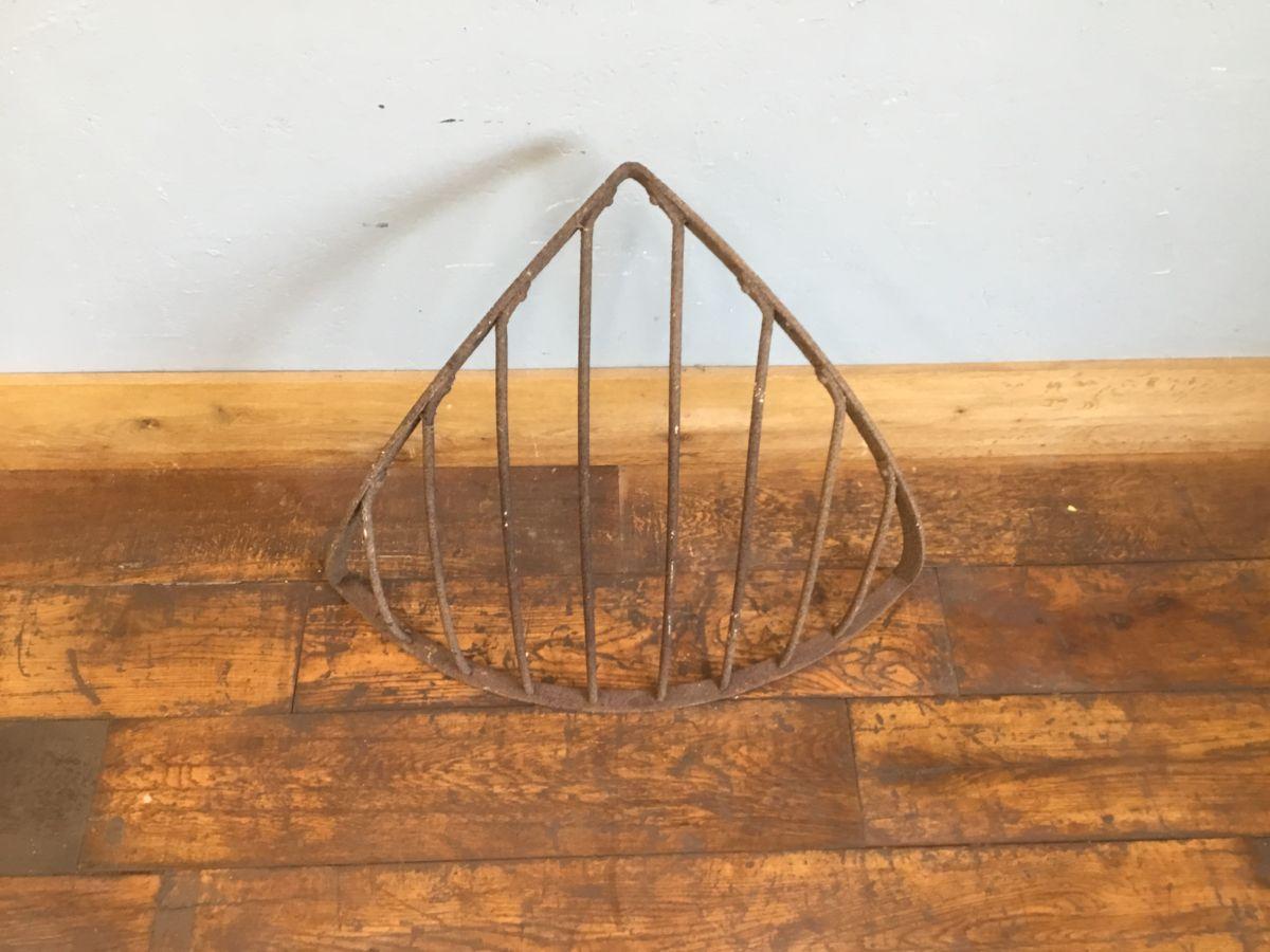 Cast Iron Corner Hay Rack