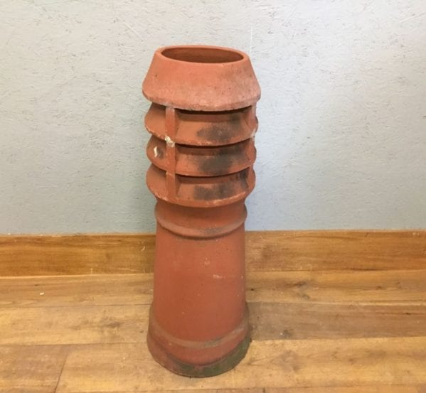 Reclaimed Chimney Pot Terracotta Louvred