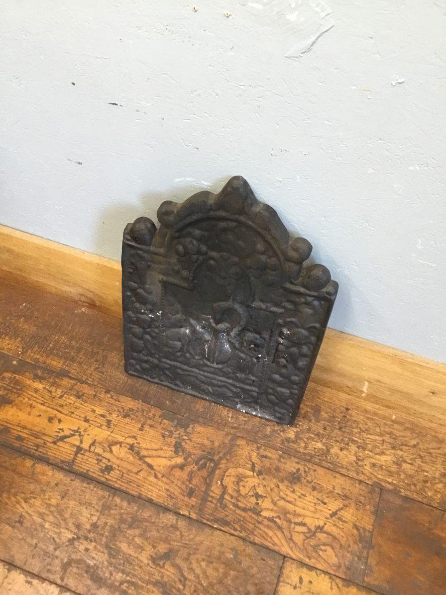 Small Ornate Fire Back