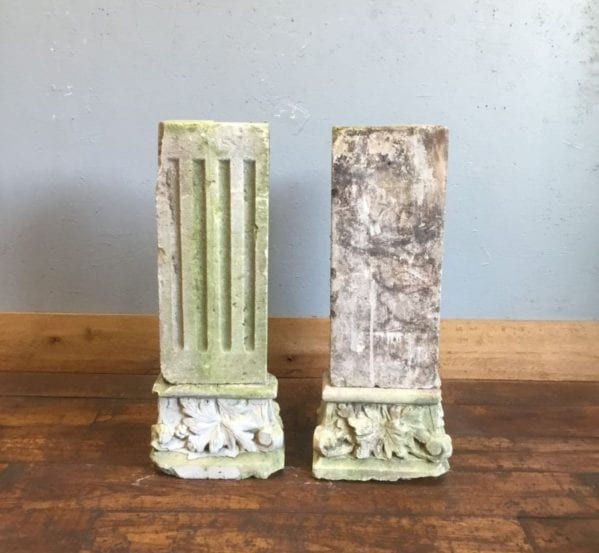 Feature Stone Corner Columns
