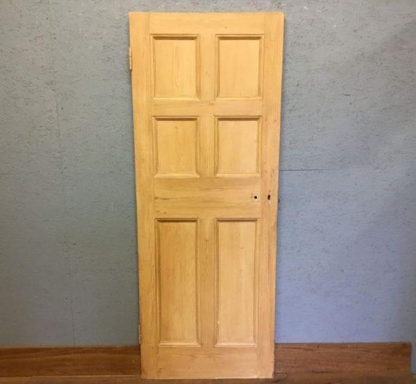 Half Painted Reclaimed 6 Panel Door
