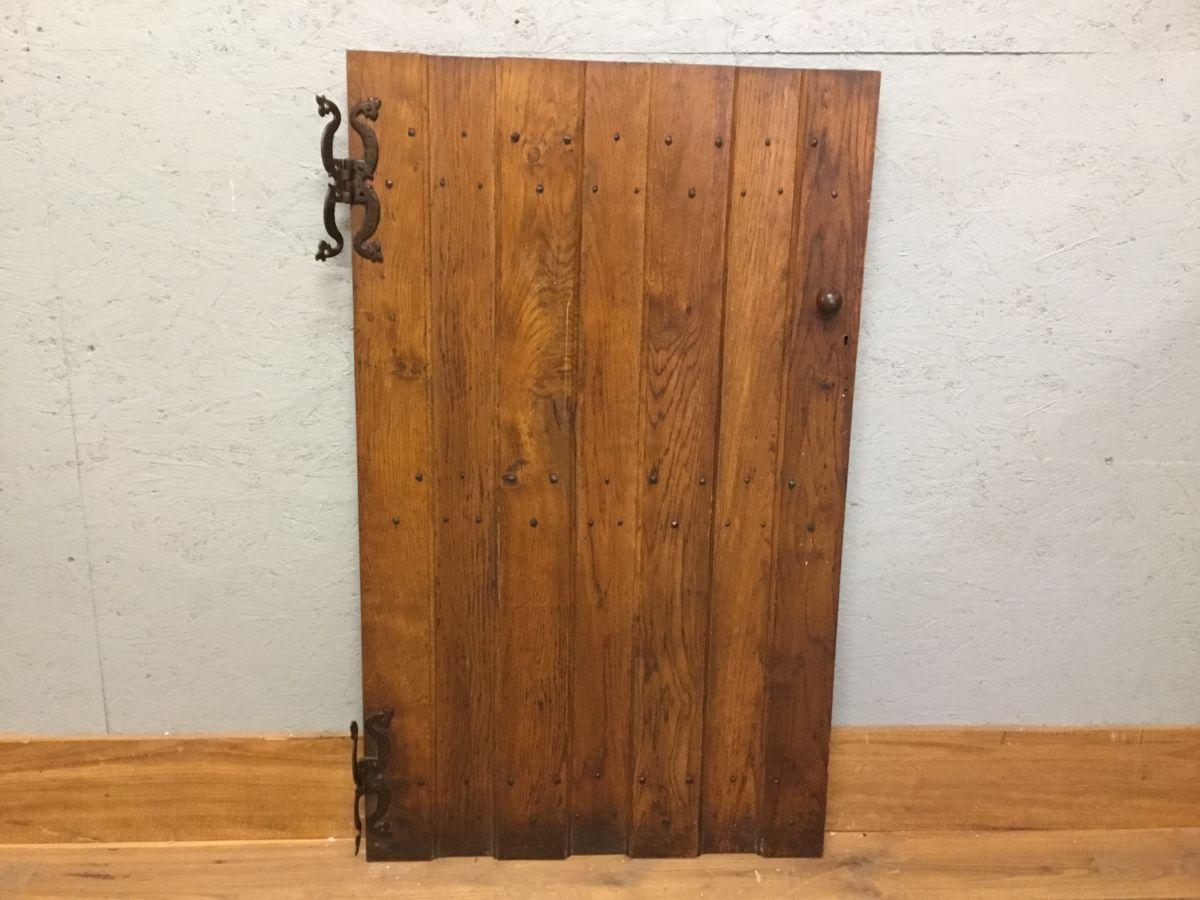 Oak Ledge And Brace Reclaimed Cupboard Door