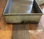 Galvanised Trough For Water Feature