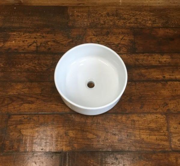 Clean White Round Hand Basin