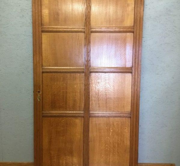 Large Reclaimed 8 Panel Door