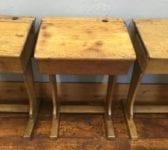 Old School Single Desks