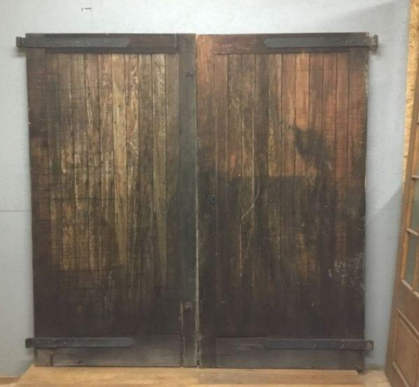 Reclaimed Large Garage Door Pair