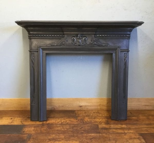 Embellished Cast Iron Fire Surround