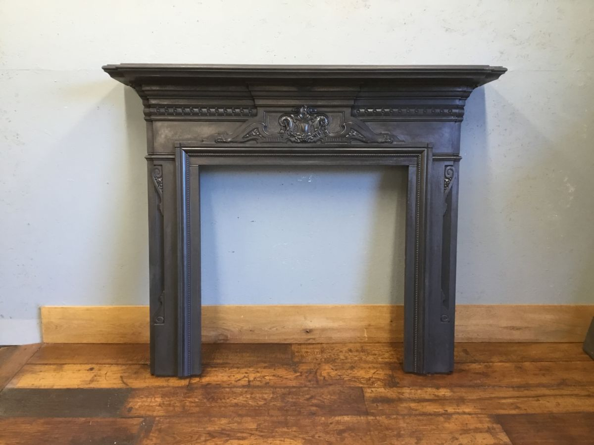 Embellished Cast Iron Fire Surround