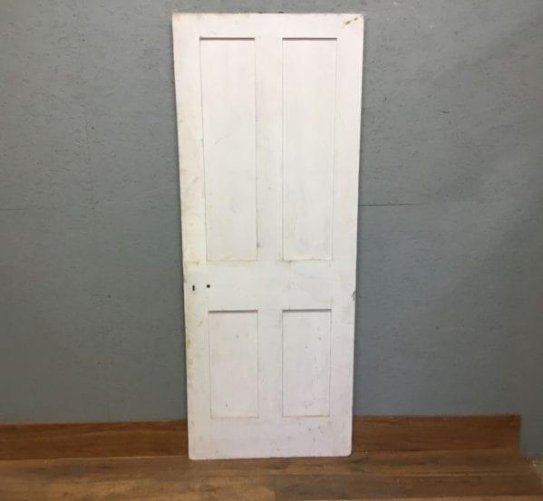 White Painted Reclaimed 4 Panel Internal Door