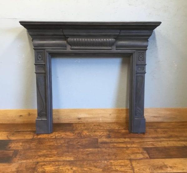 Simplistic Detail Cast Iron Fire Surround
