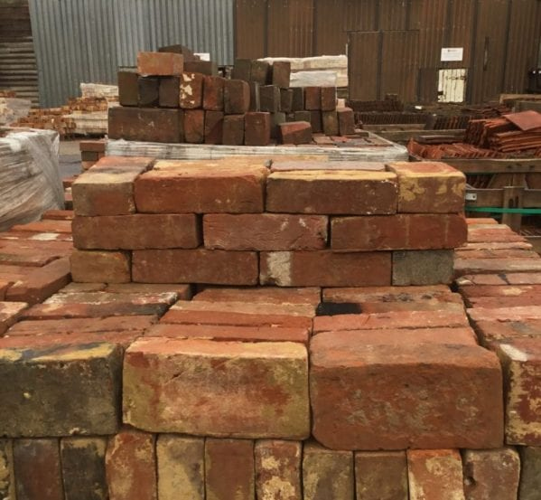 Mixed Red Handmade Brick Batch