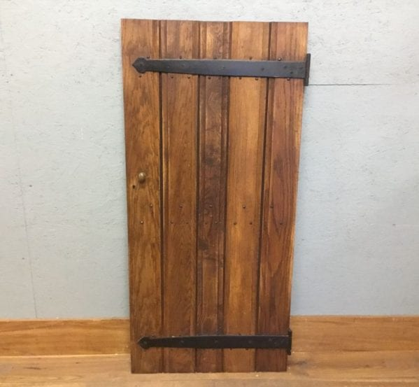 Reclaimed Oak Cupboard Door Ledged And Brace
