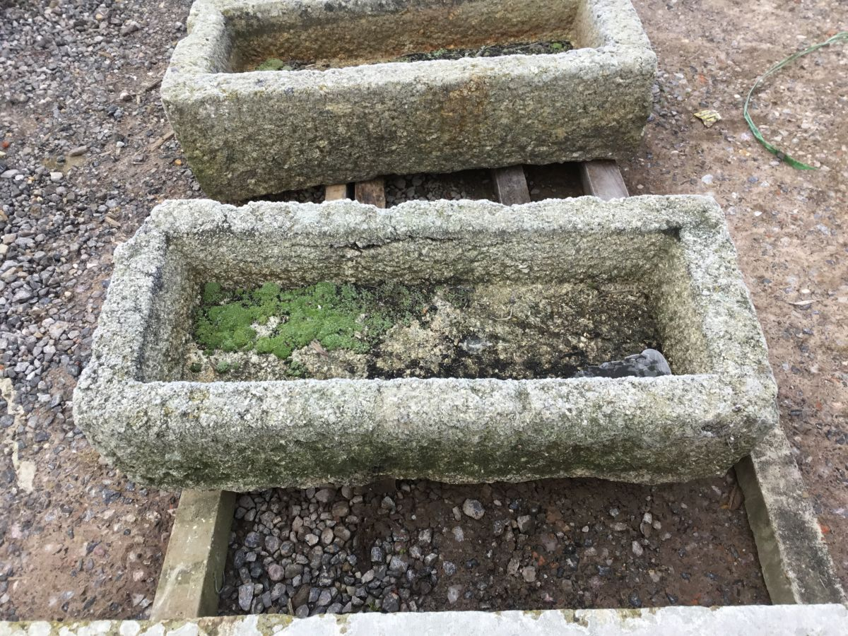 Reclaimed Cornish Granite Narrow Trough