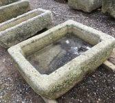 Cornish Granite Reclaimed Rectangular Trough