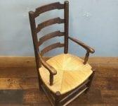 Rush Seated Armchair
