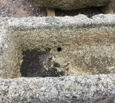 Narrow Reclaimed Cornish Granite Trough